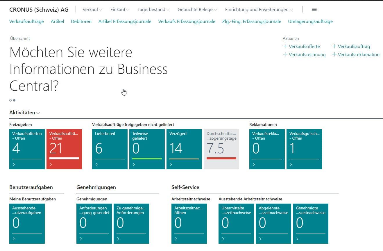 Microsoft Dynamics 365 Business Central ist in der neusten Version V17 ab sofort verfügbar.